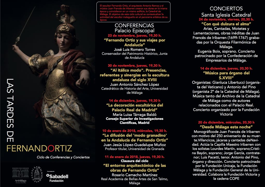 Conferencias y Conciertos. Fernando Ortiz